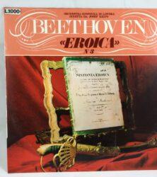 LP VINILE 33 GIRI BEETHOVEN EROICA N°3