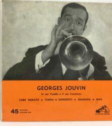 DISCO VINILE 45 GIRI GEORGES JOUVIN