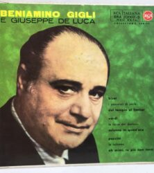 DISCO VINILE 45 GIRI BENIAMINO GIGLI