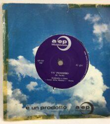 DISCO VINILE 45 GIRI VA PENSIERO AMICI DELLA MUSICA